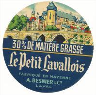 étiquette De Fromage:   Camembert  :mayenne  - Laval   A. Besnier - Formaggio