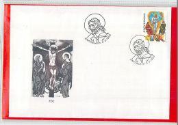 SLOVENSKO  -  FDC  -   SPIRITUAL  RENEWAL - FDC