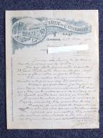 CAISSARGUES Château (30): Lettre à En-tête De 1901 - Régisseur, Commande De Vin - France
