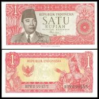 Indonesia 1 RUPIAH 1964 P 80a UNC - Indonesië