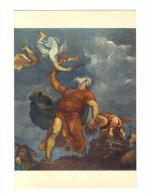 Venezia: Chiesa S. Maria Della Salute, Tiziano, Il Sacrificio Di Isacco, Le Sacrifice D' Issac (13-2198) - Paintings