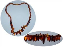SUPERBE ANCIEN COLLIER AMBRE - Necklaces/Chains
