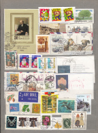 WORLDWIDE MONDE WELT Modern Used (o) Stamps Lot On Paper #16962 - Timbres