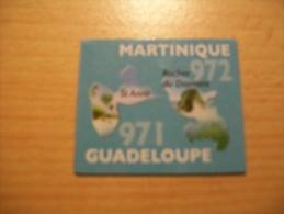 MAGNET LE GAULOIS 971 GUADELOUPE 972 MARTINIQUE - Magnets
