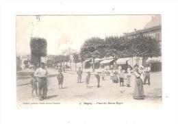 CPA - 93 - GAGNY - Place Du Baron Roger - Animation Leblanc - 1905 - Gagny