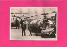 13 / 7 / 88  -   RETOUR  DU  GÉNÉRAL  DE  GAULLE  DE  BADEN-BADEN  Le 29/05/1968 - Hommes Politiques & Militaires