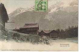 CPA GOLZENERALP (Suisse-Uri) - 1410 M Vue Générale - UR Uri