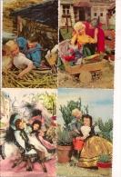 - LOT  DE 8  CP DE POUPÉES  - Toutes Scanées - 5 - 99 Postkaarten