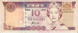 BILLETE DE FIJI DE 10 DOLLARS DEL AÑO 1996 CALIDAD EBC+    (BANKNOTE) - Fiji