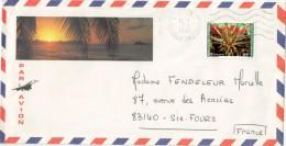 LETTRE NOUMEA 7/1/1981 YVERT PA216 POUR FRANCE SIX FOURS - Nieuw-Caledonië