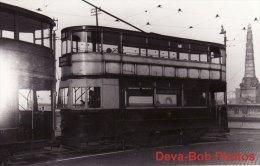 Tram Photo LIVERPOOL Corporation Tramcar Standard Car 458 LCPT Tramway - Trains