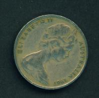 AUSTRALIA - 1967 20c Circ. - Decimal Coinage (1966-...)