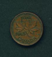 CANADA - 1943 1c Circ. - Canada