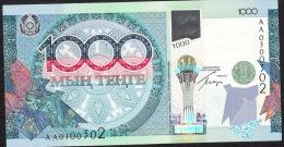 KAZAKHSTAN  P35 1000 TENGE  2010  #AA0 Signature 5 UNC. - Kasachstan