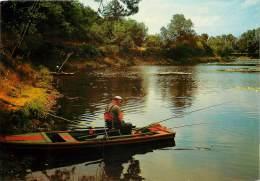 : Réf : J-12- 5418 : Moisdon La Rivière Pêche à La Ligne - Moisdon La Riviere