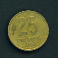ARGENTINA - 1993 25c Circ. - Argentina