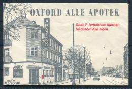 Denmark Copenhagen Oxford Alle Apotek Chemist Advertising Envelope - Other