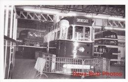Tram Photo Leeds Corporation Car 602 VAMBAC Tramway Tramcar In Store - Trains