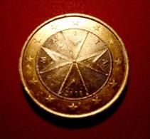 1 EURO MALTA - 2008  MONETA - MALTA - COIN SPL - Malta