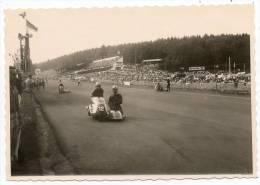 24885  -   Francorchamps  Circuit -  Moto  Avec Side-car   Photo  12,3  X 8,5 - Stavelot