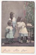 Vintage Original Postcard Children By Christmas Tree  Cpa Ak (W3_1919) - Navidad