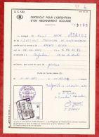 Formular, EF Eisenbahnpaketmarke, Gestempelt Mariembourg 1972 (40251) - Belgien