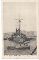 MALTE - GUERRE 1914-15 - Le Diderot Faisant Son Charbon - Malta
