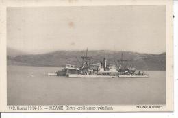 ALBANIE- GUERRE 1914-15 - Contre-torpilleurs Se Ravitaillant - Albanie