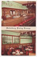 - MINNEAPOLIS. - Heidelberg Dining Lounge - German-American Restaurant   - Scan Verso - - Minneapolis