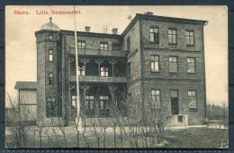 1910 Sweden Skara Lilla Seminariet - Postaly Used Postcard - Sweden