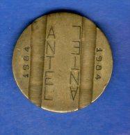 FV -  TOKEN - FICHA URUGUAY TELEFONICA ANTEL 1984  22 MM - Tokens & Medals