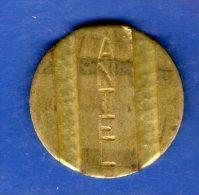 FV -  TOKEN - FICHA URUGUAY TELEFONICA ANTEL N/D 22 MM - Tokens & Medals