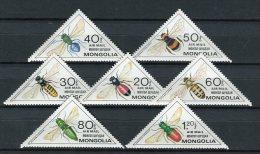 Mongolia 1980. Yvert A 115-21 ** MNH. - Mongolia