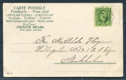 1904 Sweden Postcard