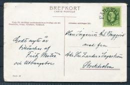 1910 Sweden Farosund Postcard