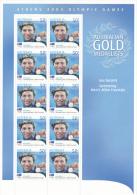 2004 Athens Olympics Gold Medallists Ian Torpe 400m Free Style MNH - Summer 2000: Sydney
