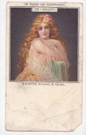 Ca1900 Horniman Tea Erotic Semi Nude Woman Vintage Original Postcard Cpa Ak (W3_1984) - Publicité
