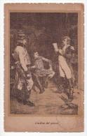 Ca 1900 ITALY L'ORDINE DEL GIORNO ILLUSTRATED MILITAR Vintage Original Postcard Cpa Ak (W3_2023) - Manovre