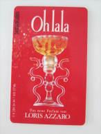Germany Chip Phonecard,K284 04.94 Loris Azzaro Perfume,used - Parfum