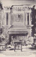 Cp , 85 , SAINT-CYR-en-TALMONDAIS , Château De La Cour D'Aron , Cheminée Du Salon - Moutiers Les Mauxfaits