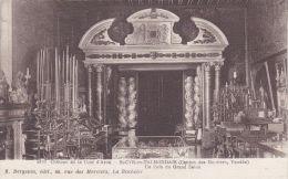 Cp , 85 , SAINT-CYR-en-TALMONDAIS , Château De La Cour D´Aron , Un Coin Du Grand Salon - Moutiers Les Mauxfaits