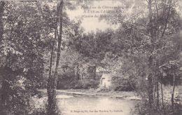 Cp , 85 , SAINT-CYR-en-TALMONDAIS , Château De La Cour D´Aron , Pièce D'eau - Moutiers Les Mauxfaits