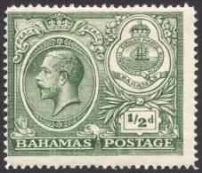 Bahamas, 1/2 P. 1920, Sc # 65, MH - Bahamas (...-1973)