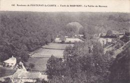 Cp , 85 , FONTENAY-le-COMTE , Environs , Forêt De Mervent , La Vallée De Mervent - Fontenay Le Comte
