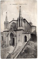 CP, 30, SOMMIERES, L'Eglise Saint Pons, écrite, Voyagé En 1905 - Sommières