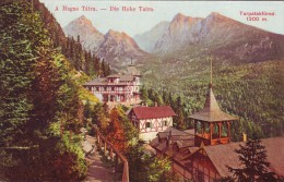Slovakia,High Tatra,non Mailed Postcard 1912: Tarpatakfüred Bath II, 1300 M - Slovacchia