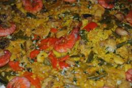 Digitalbild Einer Paella In Valencia Spanien - Andere Sammlungen