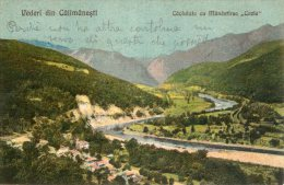 [DC8869] VEDERI DIN CALIMANESTI - CACIULATA CUMANASTIREA COZIA - Viaggiata 1923 - Original Old Postcard - Romania