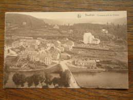 Panorama Pris Du Château - Anno 1922 ( Zie Foto Voor Details ) !! - Bouillon