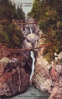 Slovakia,Tatra,mailed UPU Postcard 1917: Kis Tarpatak Giant Waterfall - Slovacchia
